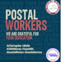 Help our Brothers & Sisters in NALC 59 & APWU 360